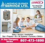 Lakehead Burner
